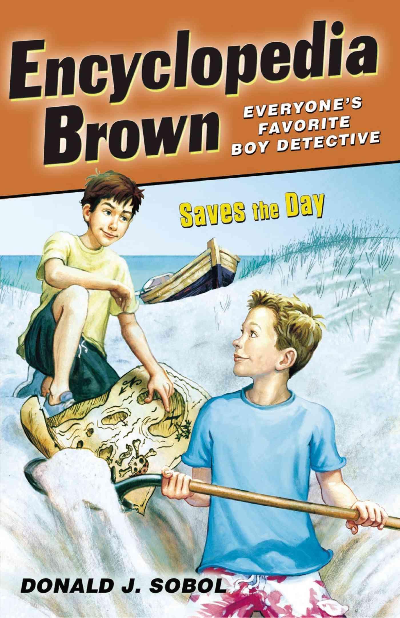 Encyclopedia Brown Saves the Day By Sobol, Donald J./ Shortall, Leonard (ILT)